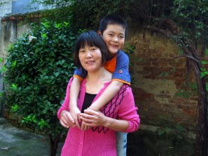 妈妈和弟弟