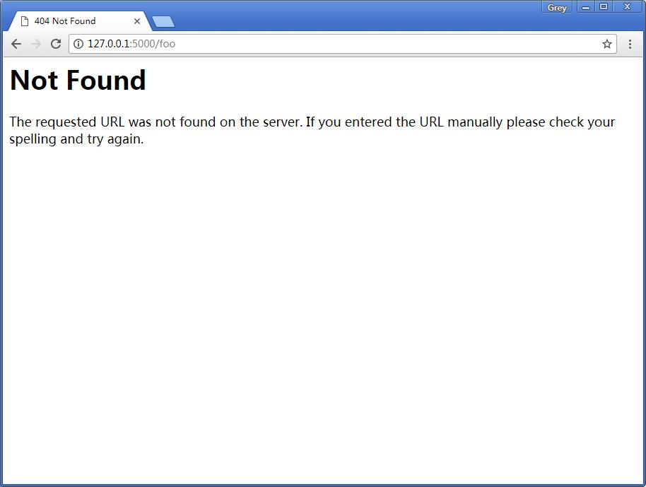 404错误响应